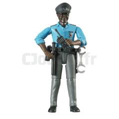 Policier de Couleur avec Accessoires - BRUDER - 60051