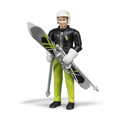 Skieur Avec Accessoires - BRUDER- 60040