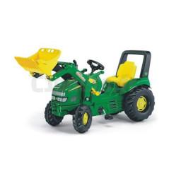 Tracteur à Pédales Rollyx-trac John Deere + Pelle Avant Rolly Toys 046638