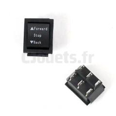 Interrupteur Marche Avant/Arrière/Stop 6/12 Volts INT/AV-AR