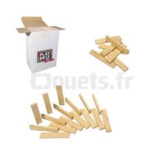 Kit 200 planchettes en bois, Jeu de construction