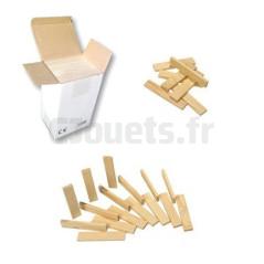 Kit 100 planchettes en bois, Jeu de construction