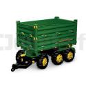 Remorque basculante triple essieux Rolly Toys 125043 Tracteurs à pédales