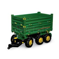 Remorque basculante triple essieux Rolly Toys 125043