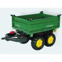 Remorque basculante double essieux Rolly Toys 122004