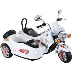 Side-car Electrique Pour enfants 12 Volts Blanc 249,90 €