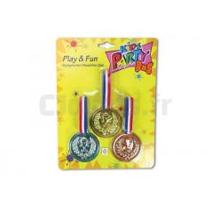 3 Médailles enfants BIG 3,90 €