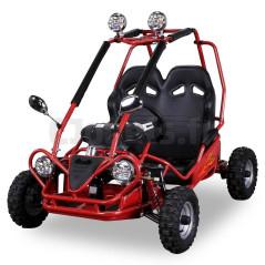 Buggy Electrique Pour Enfant 36 Volts 450 Watts 2 places Rouge